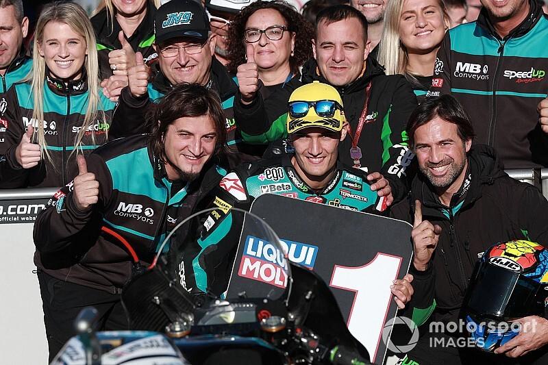 Moto2バレンシア予選:ナヴァッロがポールポジション獲得。長島哲太はQ2進出ならず