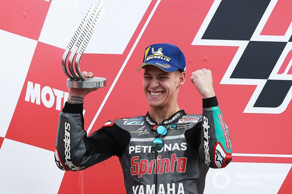 Quartararo: Debut win not essential before move to Yamaha