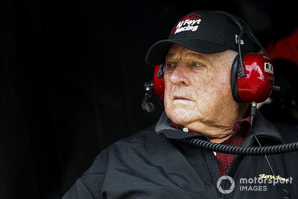 """Fan-less Indy 500 is """"a real shame"""" says legend Foyt"""
