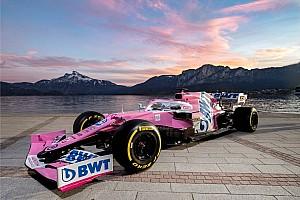 Fotogallery Racing Point: ecco la livrea 2020 della RP20