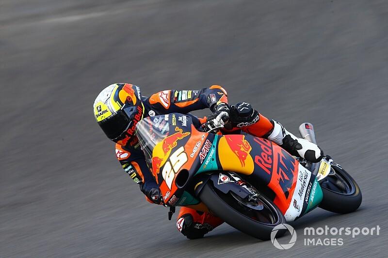 Moto3, Losail, Libere 2: Fernandez vola, Arbolino sesto