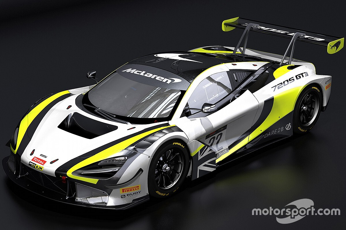 GT-team Button met McLaren in Brawn-kleuren