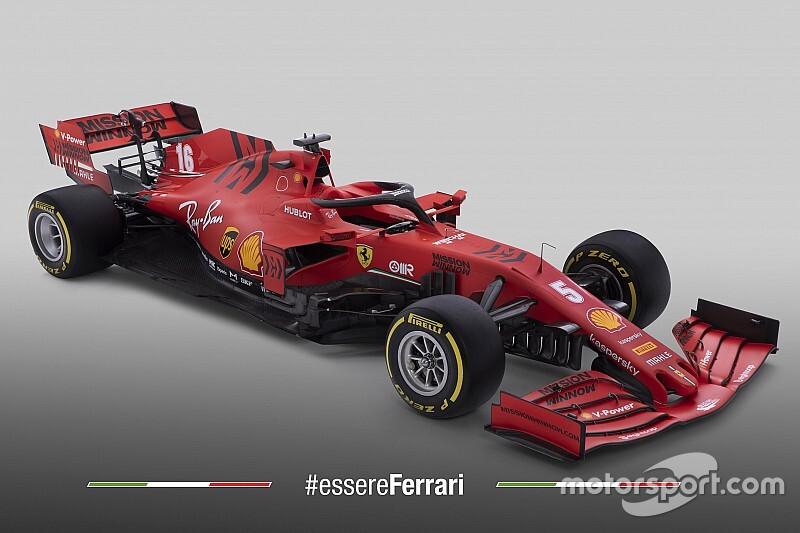Ferrari's 2020 F1 car breaks cover