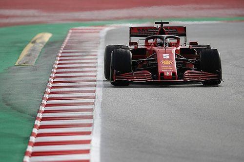 Verstappen zorgt voor code rood, Vettel snelste in ochtendsessie