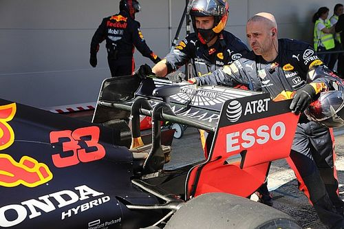 Red Bull rodará en Silverstone con novedades en su monoplaza 2020