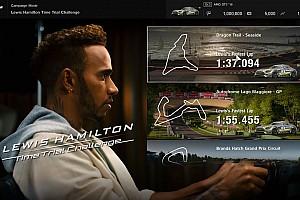El reto de Lewis Hamilton, disponible ya en 'Gran Turismo Sport'