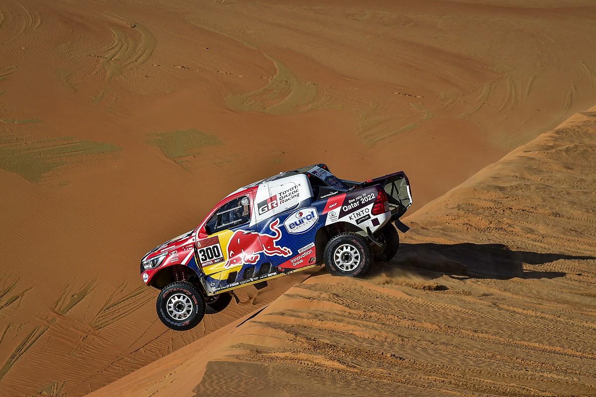 تويوتا تشارك في منافسات رالي داكار 2021 مع أربع سيارات جديدة