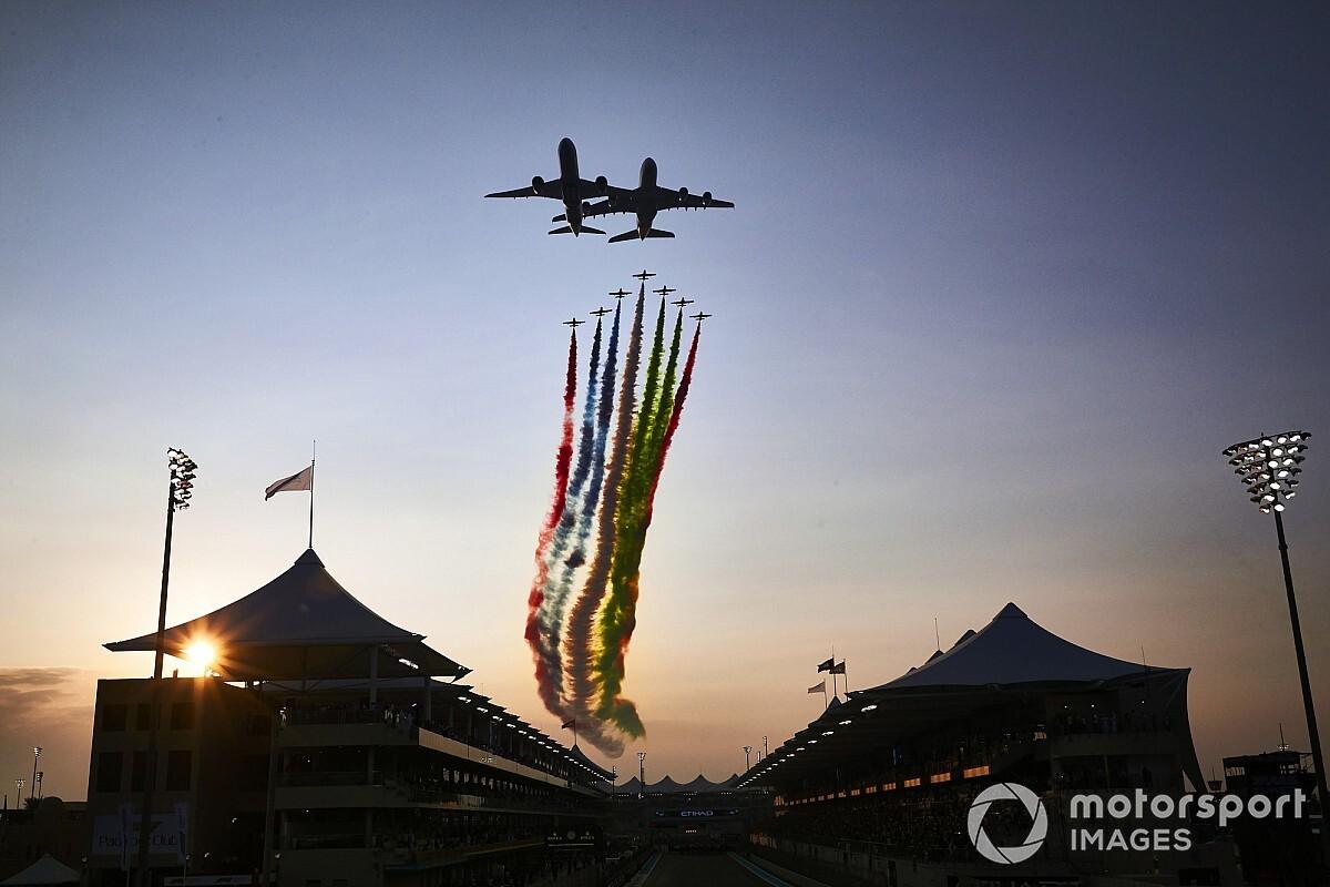 Az Abu Dhabi Nagydíj leglátványosabb felvételei
