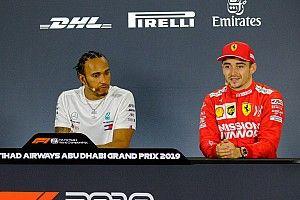 """Leclerc echoot Verstappen: """"Hamilton niet onverslaanbaar"""""""