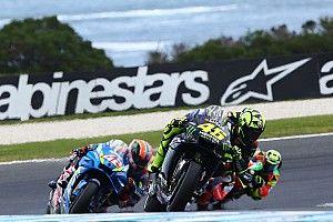 """Rossi """"le plus lent de tout le groupe en ligne droite"""""""