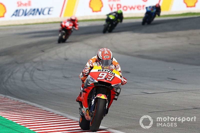 Marquez inspired by Italy 2015 start at Sepang