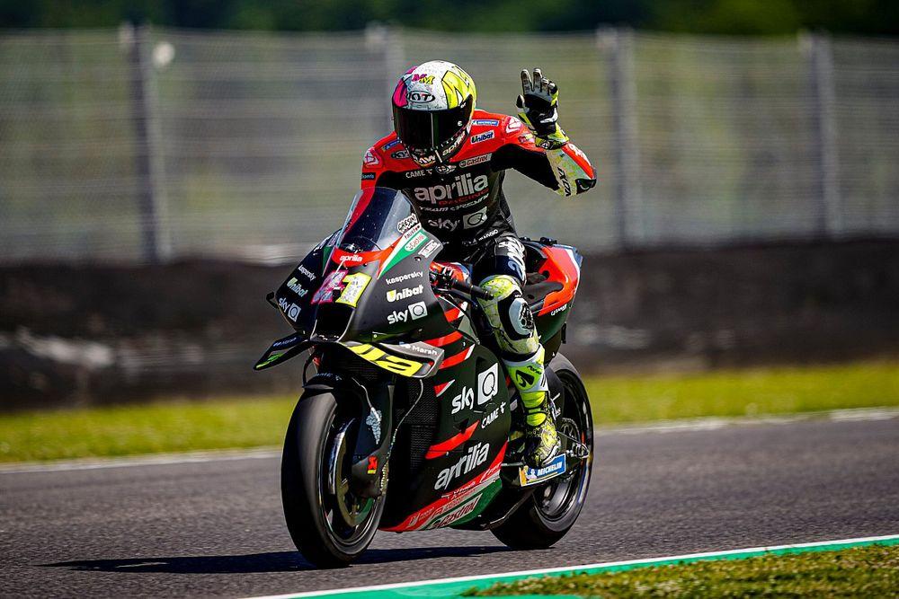 Catalunya MotoGP: Aprilia's Espargaro beats Morbidelli to FP1 top spot