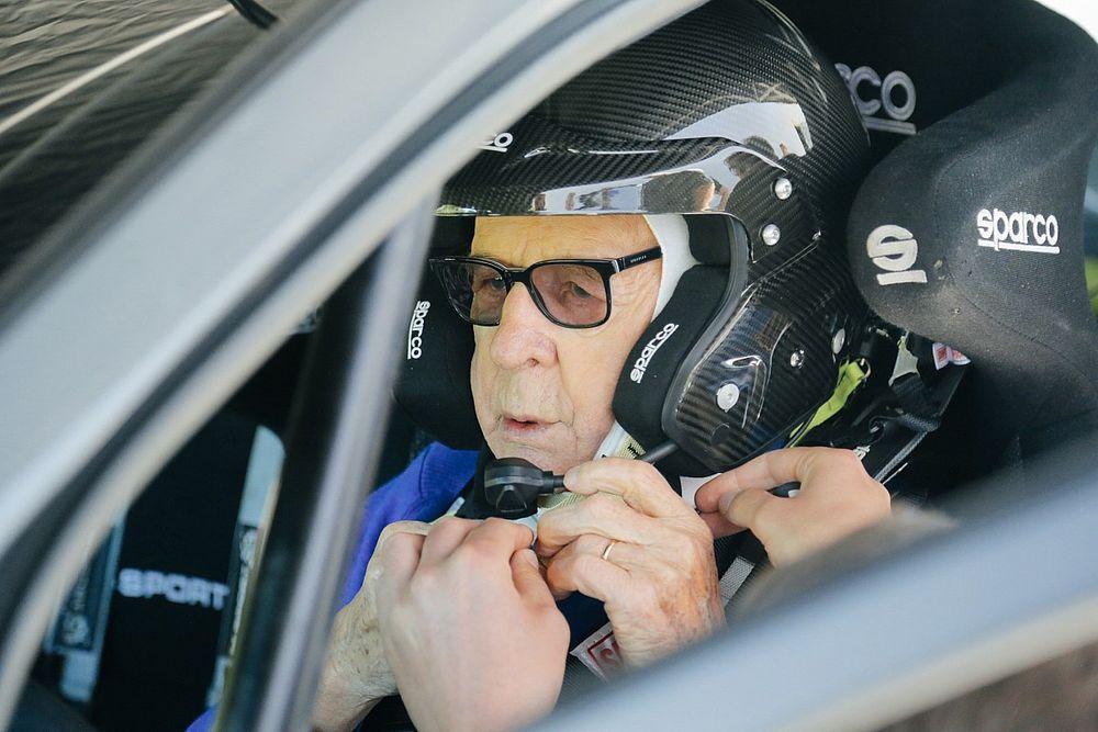 El piloto de 91 años que romperá un récord en el Rally de Kenia del WRC