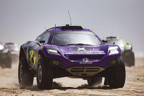 Loeb, Gutierrez top Senegal XE qualifying for Hamilton's X44 team