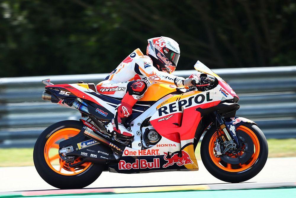 Márquez homologa una nueva aerodinámica en su Honda RC213V