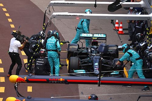 Bottas rues 'big mistake' at pitstop after Monaco F1 retirement