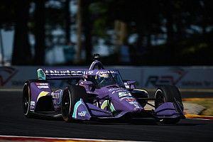 Road America IndyCar: Grosjean leads practice, Askew stars