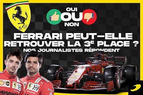 Débat - Ferrari peut-il retrouver sa troisième place ?