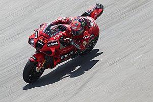 Bagnaia rejette son statut de leader Ducati malgré son aisance