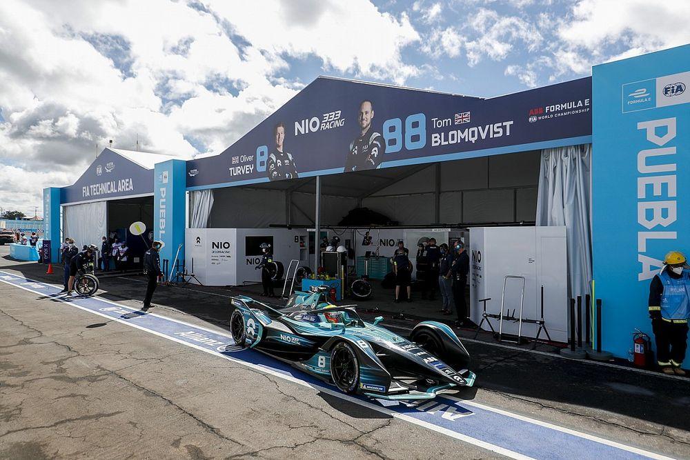 NIO Kecewa Jadi Juru Kunci di Klasemen Konstruktor Formula E