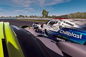 Le Mans Virtual, Hour 16: Rebellion Williams remains in charge