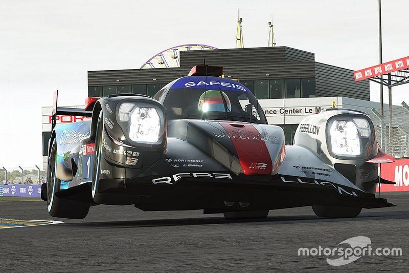 Sanal Le Mans 24 Saat: LMP'de Rebellion-Williams, GTE'de ise Ayhancan ve ekibi yarışı kazandı!