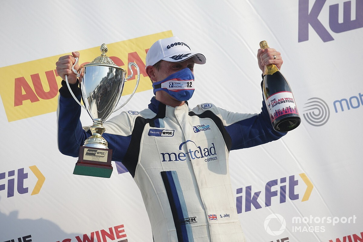 Jelley reunites with WSR after 11-year absence