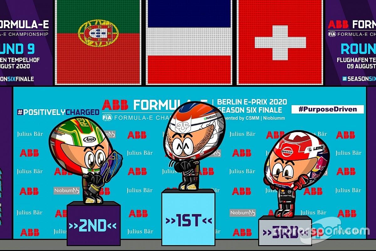 VIDEO: los minis reviven las carreras clave de la Fórmula E