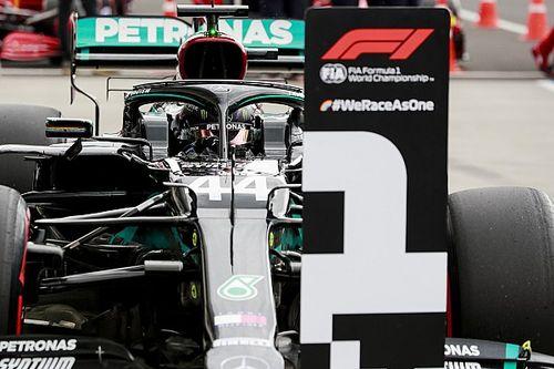 Hamilton gana la pole en Hungría y Pérez en segunda fila