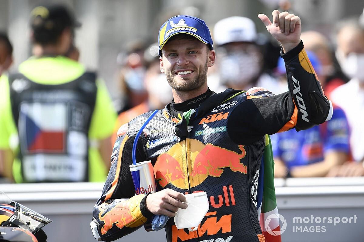 """Binder: """"Sabía que la KTM es una gran moto, pero no pensé que tanto"""""""