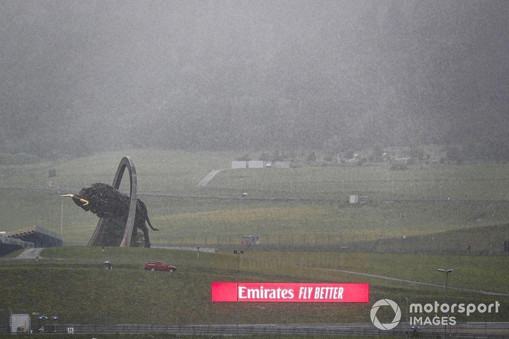 Les orages frappent Spielberg, les qualifications incertaines
