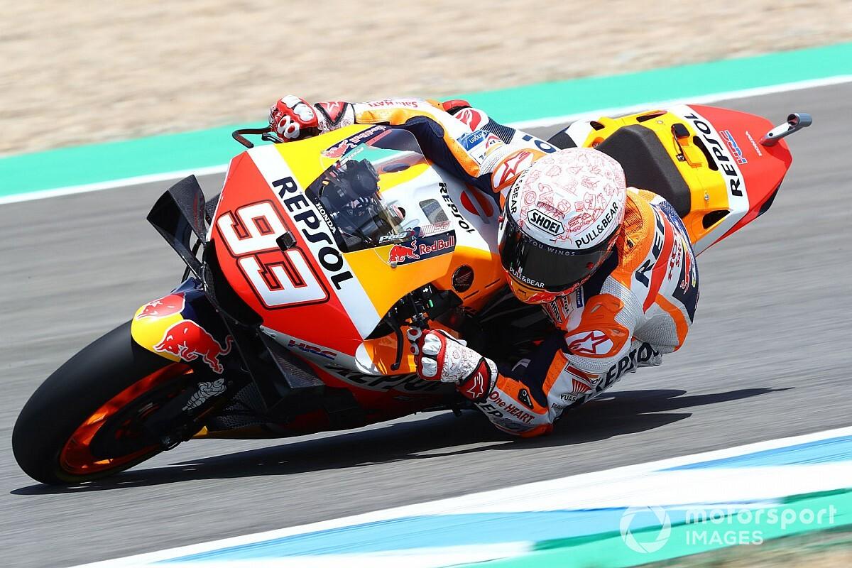 """Marquez: """"Sensazioni buone, ma la moto è ancora critica"""""""