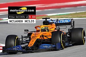 Video, Piola racconta le Formula 1 2020: McLaren MCL35