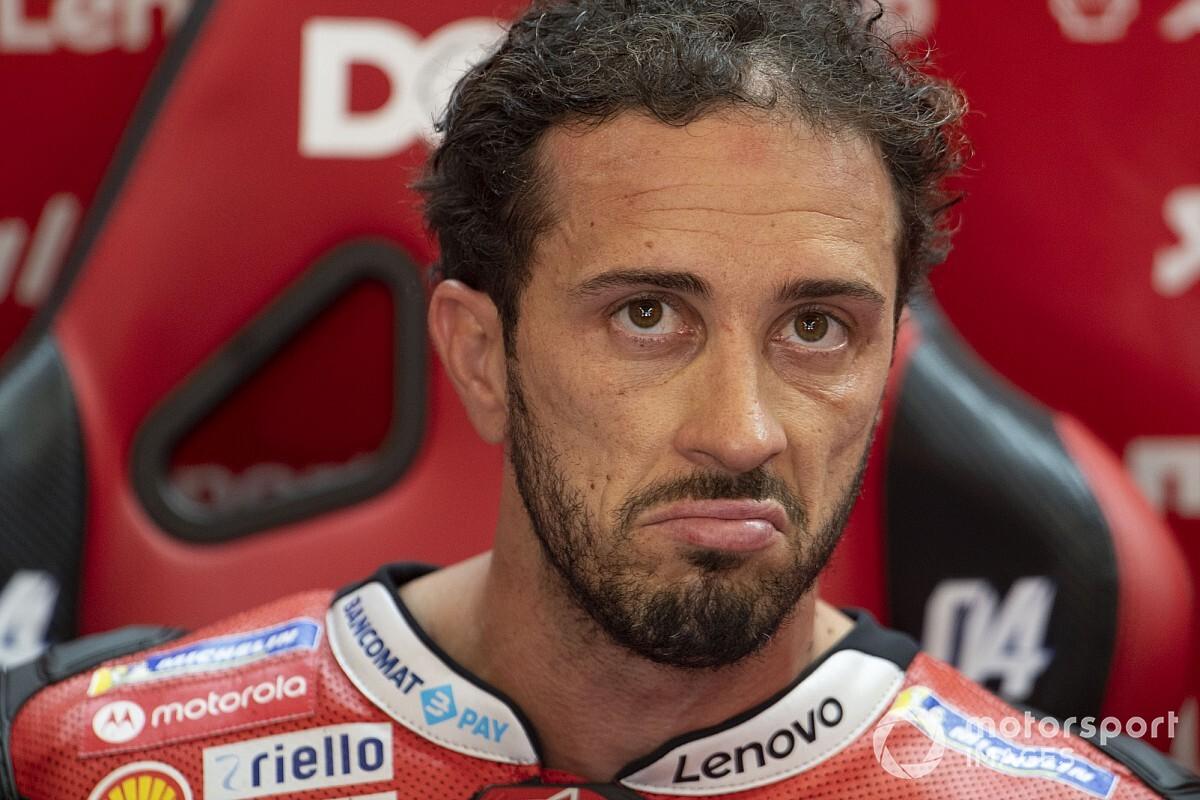 """Dovizioso detona situação fora de controle da Michelin na MotoGP: """"Eles não conseguem fazer compostos iguais"""""""