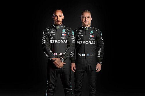 Hamilton i Bottas na czarno