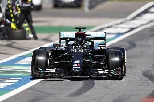 """Hamilton aceita punição, mas diz que acidente com Albon foi """"de corrida"""""""