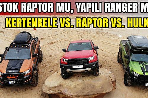 Offroad Karşılaştırması: Ford Ranger Raptor vs Yapılı Ranger