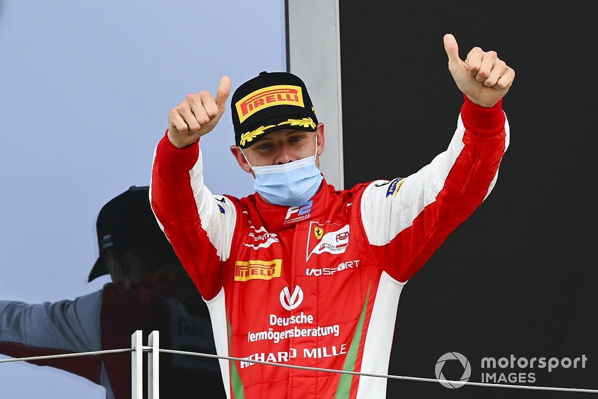 F2 Budapest 2020: Nächstes Podium für Mick Schumacher beim Reifenpoker