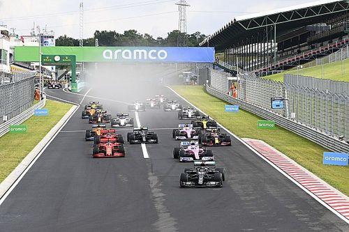Pérez: la carrera se comprometió en la arrancada