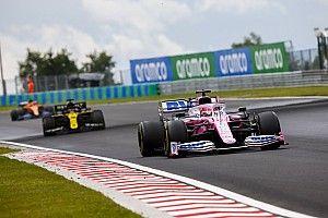 Renault dépose d'autres réclamations contre Racing Point en Hongrie