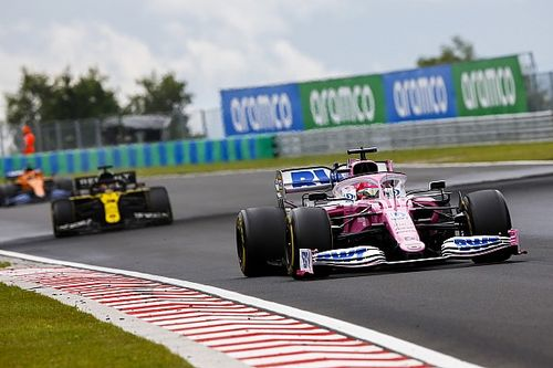 Renault protests Racing Point again in Hungary