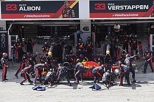 Red Bull Racing heeft ondanks alles 'veel geloof' in Albon