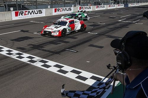 DTM-Rennen Lausitz 2: Rasts Fotofinish-Sieg gegen Müller