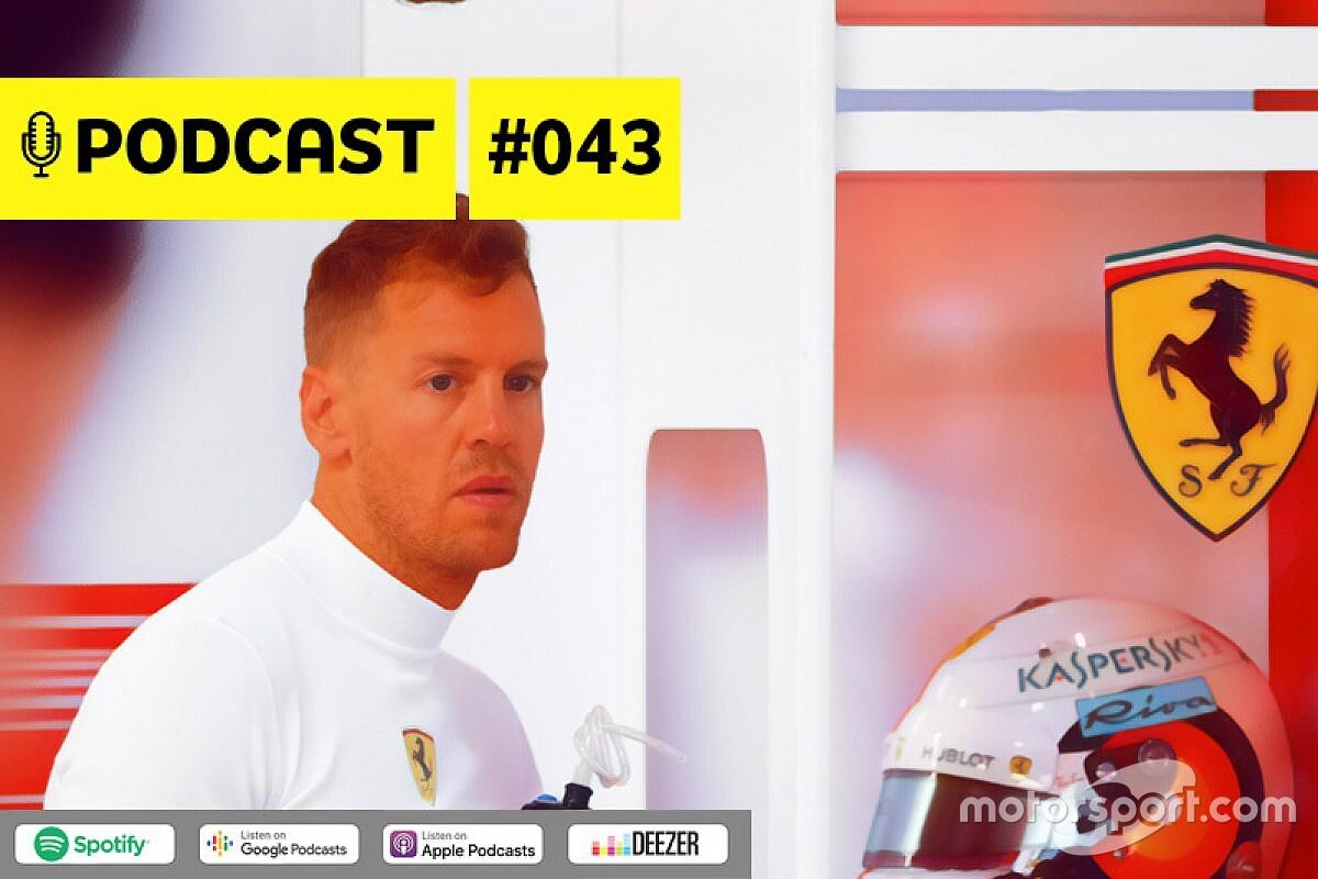 Podcast #043 – Será o fim de Sebastian Vettel na Fórmula 1?