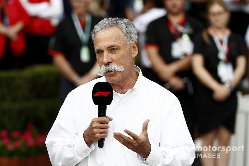 Carey, F1 sezonunun yaz aylarında başlamasını ve takvimin 15-18 yarış olmasını bekliyor