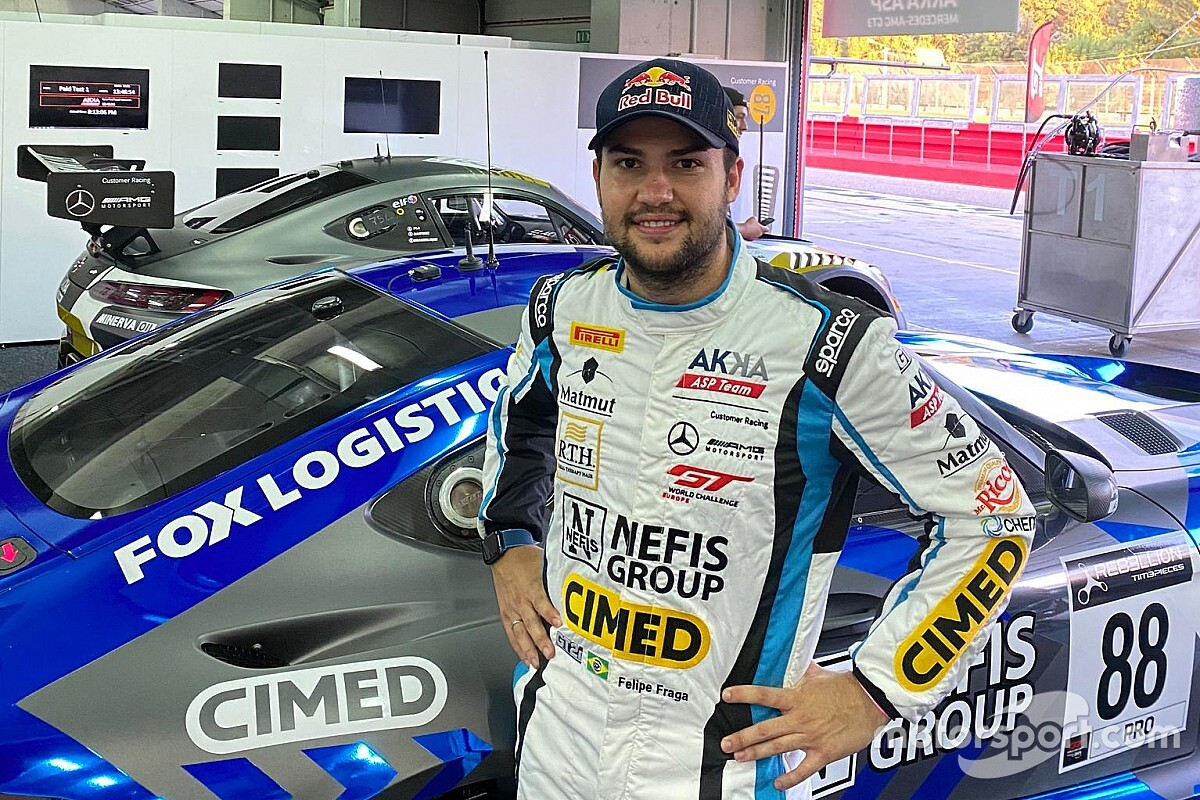 Felipe Fraga retorna à Europa e disputa abertura do GT World Challenge em Ímola