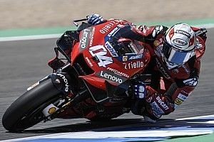 "Dovizioso doesn't want to ""copy"" faster Pramac riders"