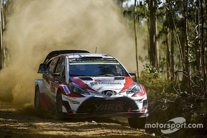 Portekiz WRC: Latvala lider başladı, ilk 4 sürücü 1.4 sn içerisinde