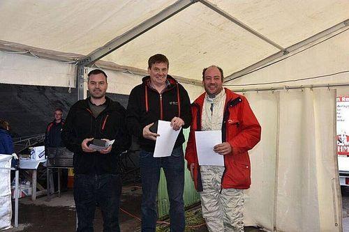 Abarth Trofeo: Die Favoriten setzten sich auch bei Regen durch