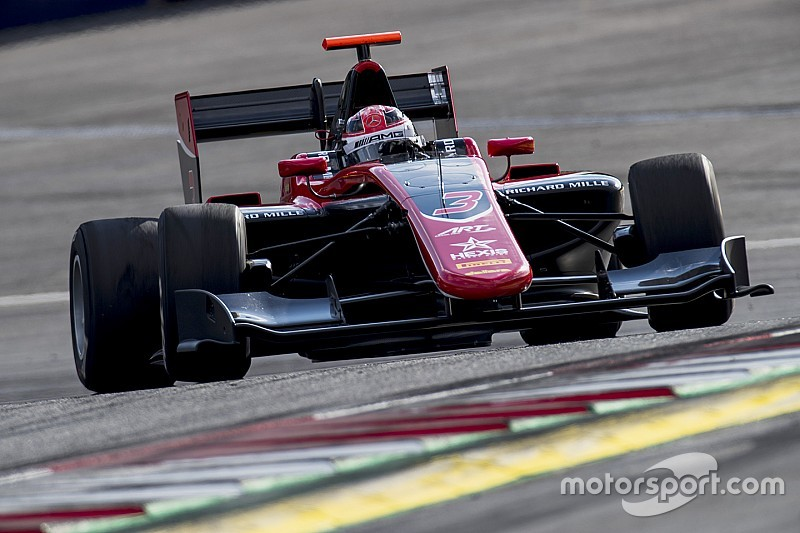 Russell, pole para la carrera de la GP3 en el Red Bull Ring